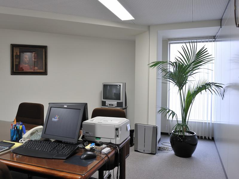 オフィス内役員室(大阪市西区)